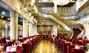 Fine dining … the restaurant at the Abbasi hotel, Isfahan, Iran.