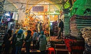 Vakil bazaar in Shiraz.