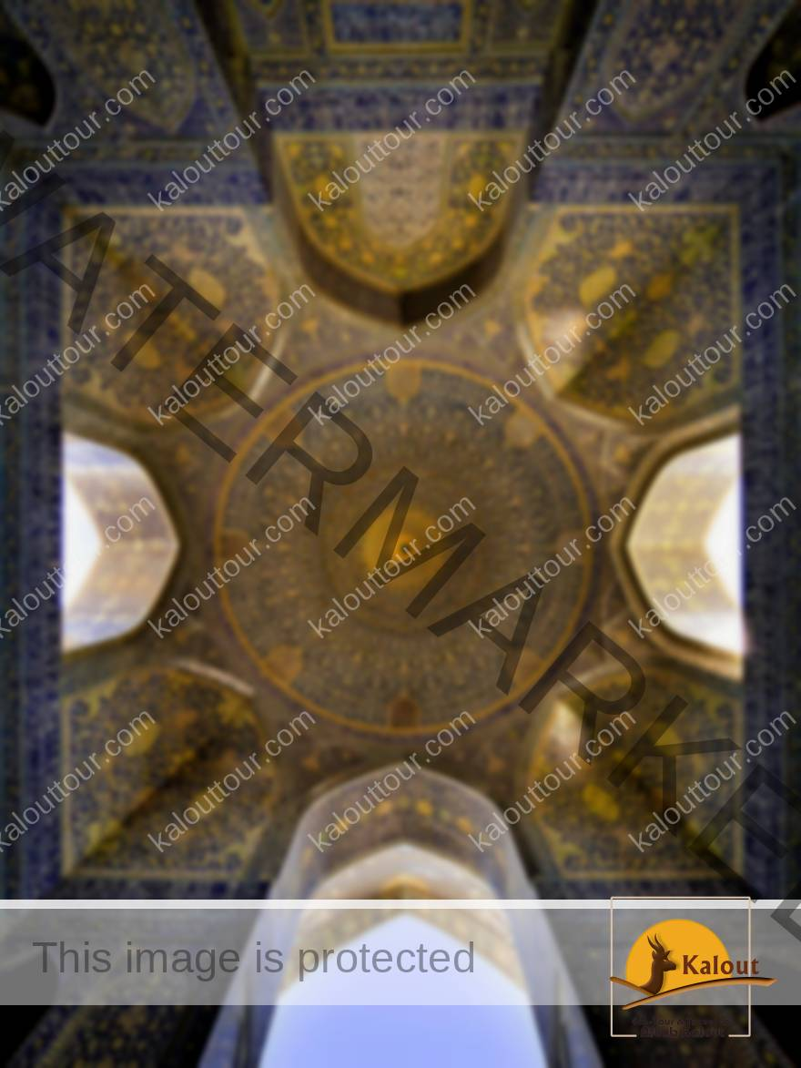 Mesmerizing Mosque Ceilings That Highlight The Wonders Of Islamic Architecture Imam mosque Isfahan.