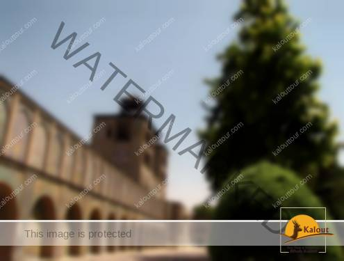 Courtyard of Golestan Palace Complex in Tehran
