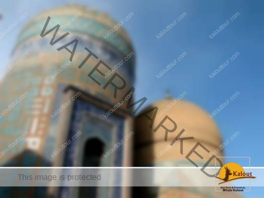 Allah Allah Domes at Sheikh Safi al-Din Khangah & Shrine Ensembles