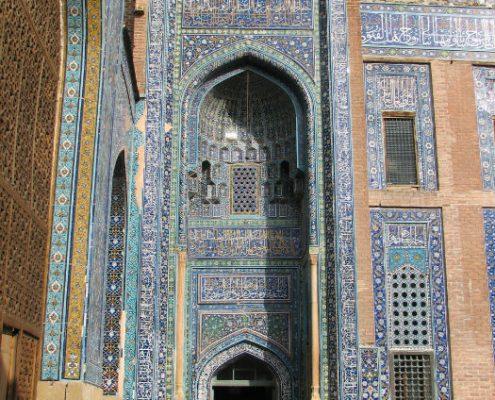 Entrance to Sheikh Safi al Din Shrine in Ardabil