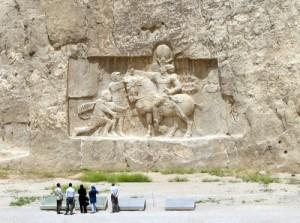 Shapur I Victorious against Roman Emperor, Valerian