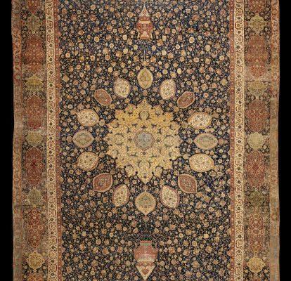 The famous Ardabil Carpet is in Victoria & Albert Museum