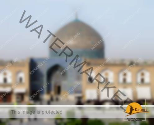 Sheikh Lotfollah Mosque in Isfahan