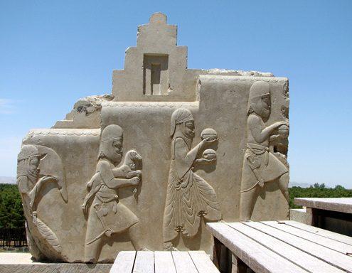 Preparing for Nowruz Celebration in Persepolis