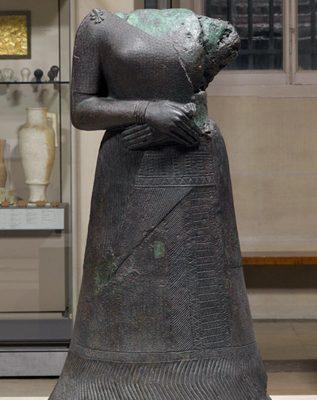 Bronze Sculpture of Queen Napirasu
