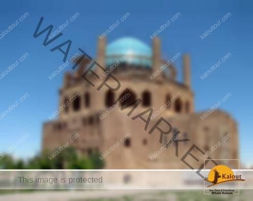 A General view of Soltaniyeh mausoleum