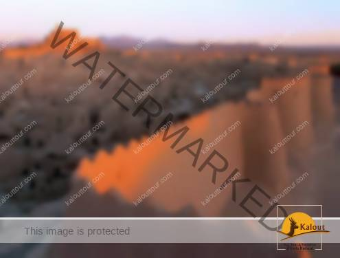 The ancient city of Bam and its protective walls