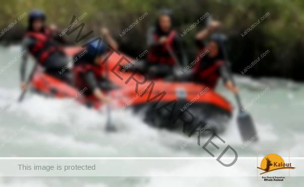 Rafting in Iran