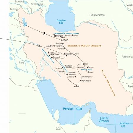 Iran Hikking Tour