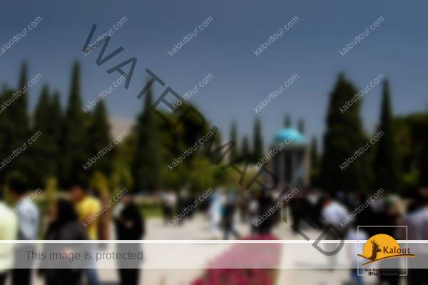 Shiraz.Gardens Tomb of the poet Sadi