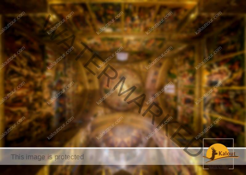 Mesmerizing Mosque Ceilings That Highlight The Wonders Of Islamic Architecture Vank Church