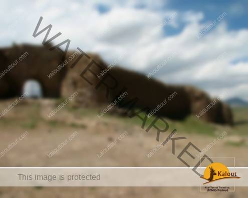 One of the Gateways at Takht-e-Soleyman