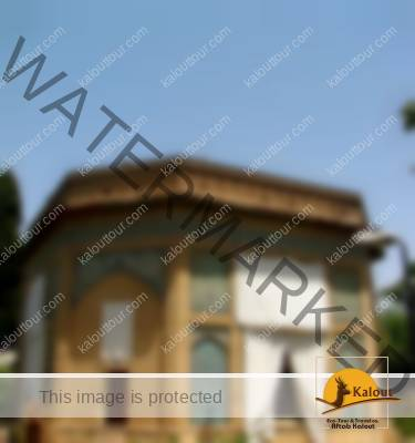 A View of Pars Museum Facade in Shiraz