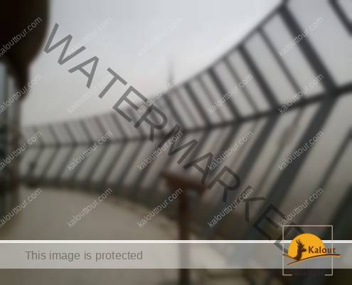 Ascend Tehran's three towers