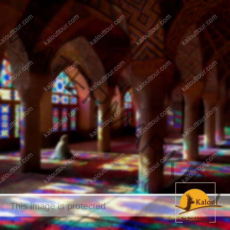 Visit the Pink mosque in Shiraz
